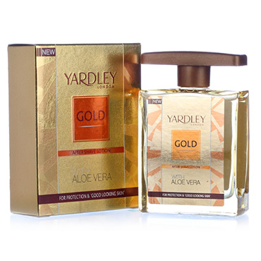 yard aftershave gold