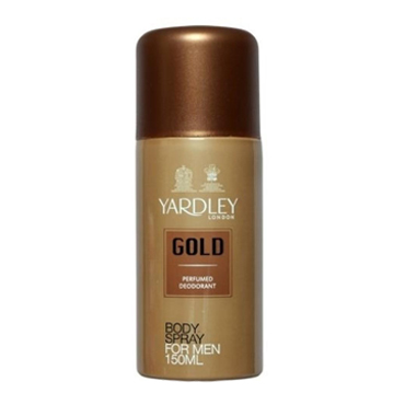 yard bodyspray gold